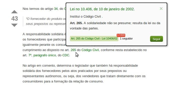 Artigo lei e jurisprudencia