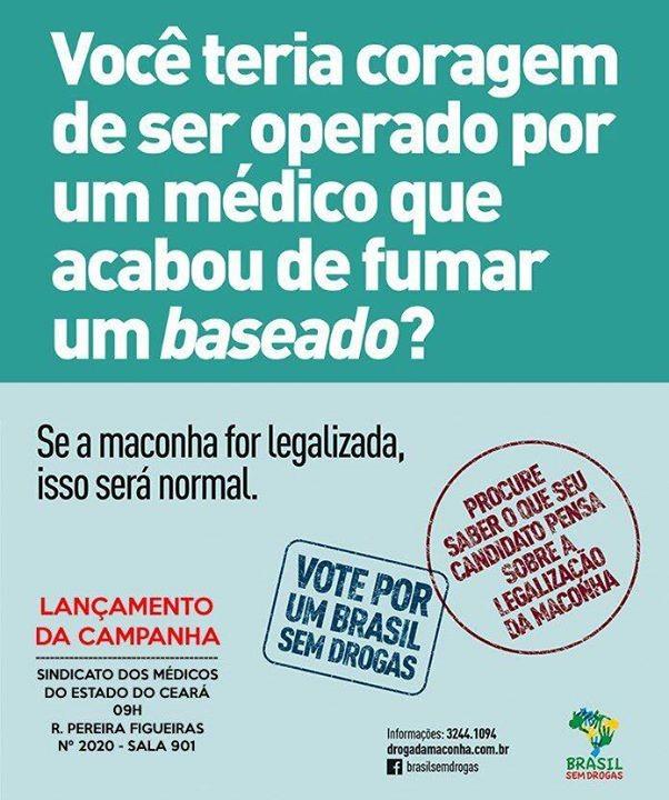 Brasil sem drogas mas com engano