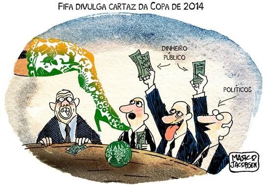 Revista francesa detona Brasil e aponta Copa no pas como o Mundial do Medo